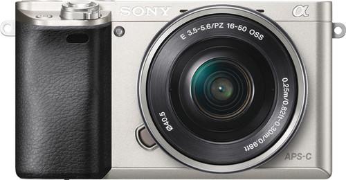 Sony Alpha A6000 Silver + PZ 16-50mm OSS Main Image