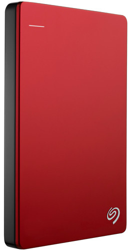 Seagate Backup Plus Slim 2 TB Rood Main Image