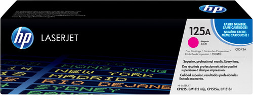 HP 125A Color Toner LaserJet Magenta (CB543A) Main Image