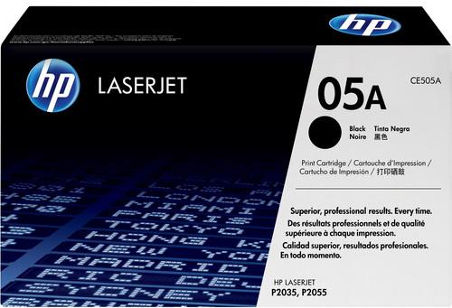 HP 05A LaserJet Toner Black (Noir) (CE505A) Main Image