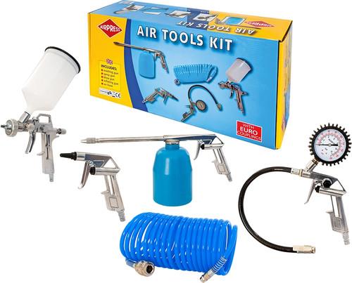 AirpressSet d'outils pneumatiques Euro (5 pièces) Main Image