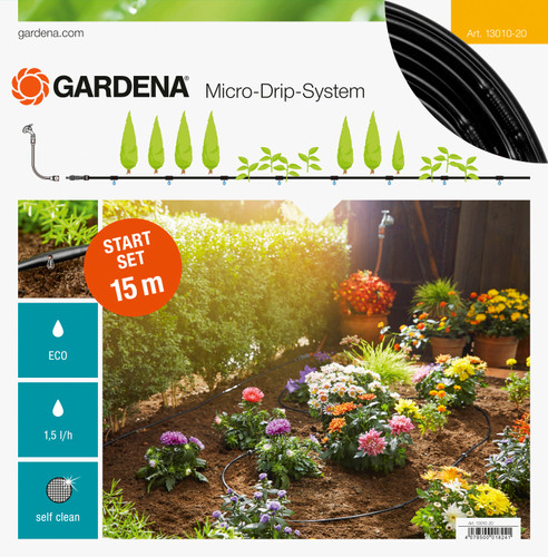 Gardena Micro Drip Start Set S 15 mètres Main Image