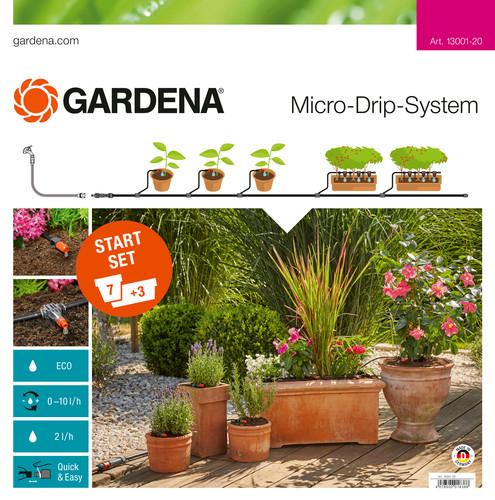 Gardena Micro Drip Start Set M Bacs à Fleurs Main Image