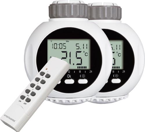 Smartwares Radiator Thermostat Duo Pack Main Image
