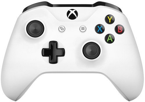 Microsoft Xbox One Manette Sans Fil Blanc Main Image