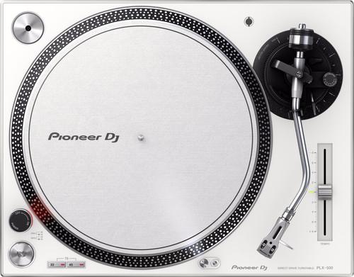 Pioneer PLX-500 White Main Image