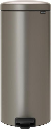 Brabantia NewIcon Poubelle à pédale 30 Litres Platine Main Image