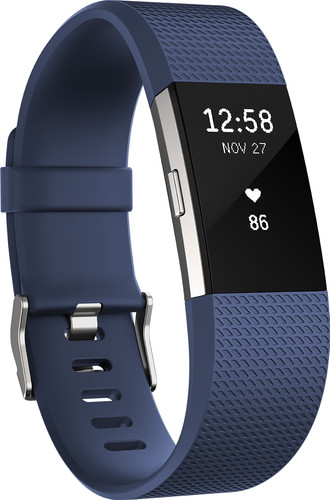 Fitbit Charge 2 Blue/Silver - S Main Image
