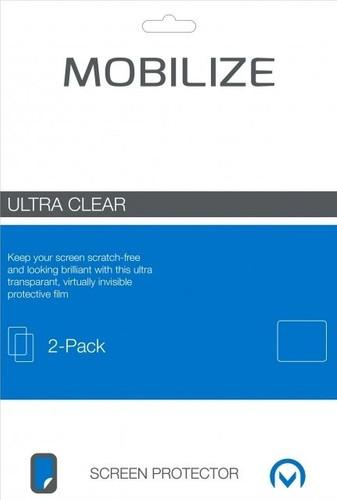 MobilizeMotorola Moto G5S Plus Protège-écran en Plastique Lot de 2 Main Image