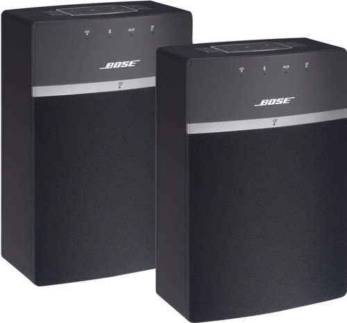 Bose SoundTouch 10 Duo Pack Black Main Image