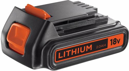 Black & Decker batterie 18 V 2,0 Ah lithium-ion Main Image