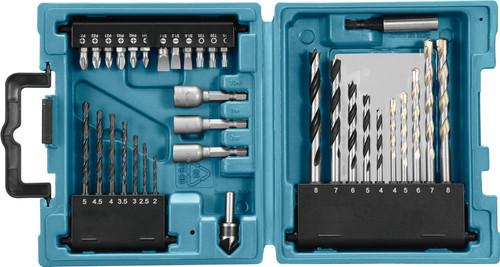 Makita 34-piece bit and bore set D-36980 Main Image