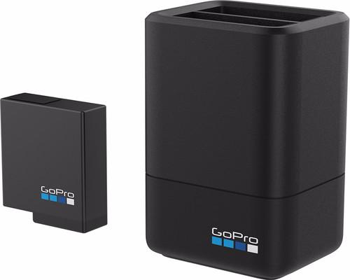 GoPro Double chargeur de batterie + Batterie (HERO 2018 + HERO 5, 6 + 7 Noir) Main Image