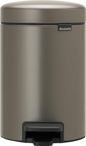 Brabantia NewIcon Pedaalemmer 3 Liter Platinum Main Image