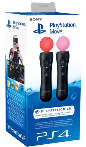 Sony PlayStation Move Manette Set PS4 Main Image