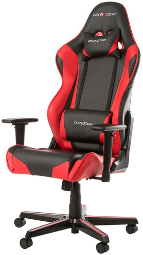 DX Racer RACING Gaming Chair Black/Red Main Image