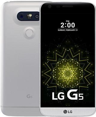 LG G5 SE Silver Main Image