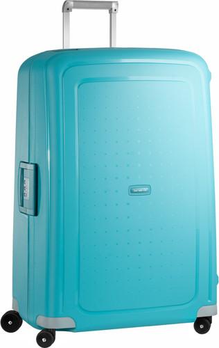 2136d10feb0 Samsonite S'Cure Spinner 81 cm Aqua Blue - Coolblue - Voor 23.59u ...