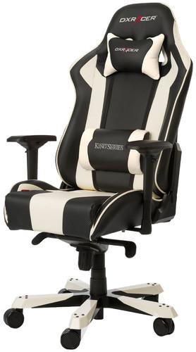 DXRacer KING Gaming Chair Black/White Main Image