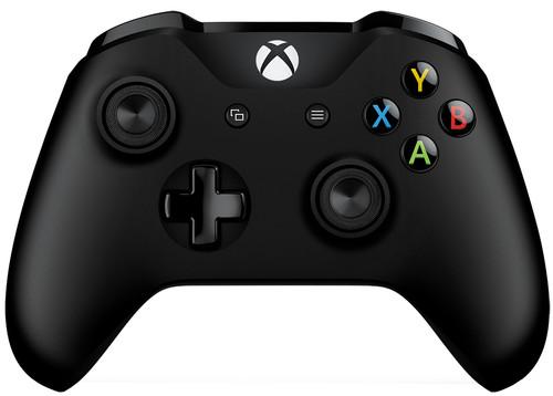 Microsoft Xbox One Manette Sans Fil Noir + Câble Main Image
