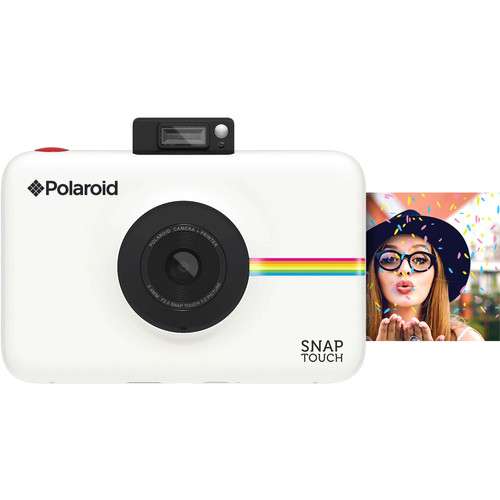 Polaroid Snap Touch Instant Digital Camera Blanc Main Image