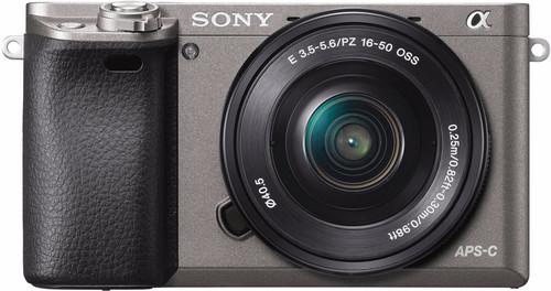 Sony Alpha A6000 Grijs + PZ 16-50mm OSS Main Image