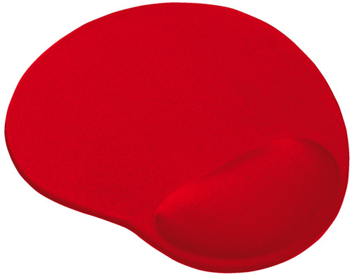 Trust BigFoot Gel Tapis de souris - Rouge Main Image