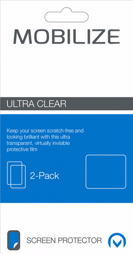 Mobilize Nokia 1 Screenprotector Plastic Duo Pack Main Image