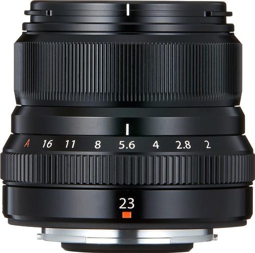 Fujifilm XF 23 mm f/2,0 R WR Noir Main Image