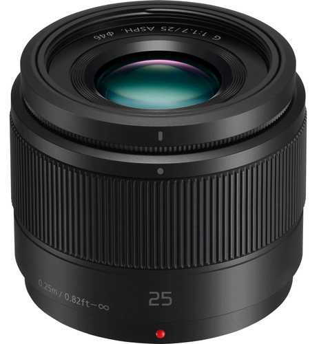 Panasonic Lumix G 25mm f/1.7 Black Main Image