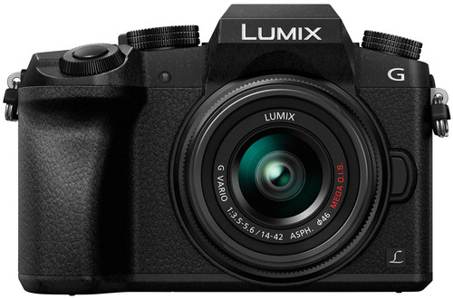 Panasonic Lumix DMC-G7 Zwart + 14-42mm Main Image
