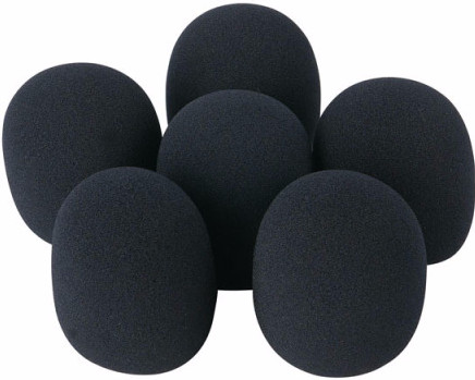 DAP-Audio D1320 Bonnettes Anti-Vent pour Microphone (lot de 6) Main Image