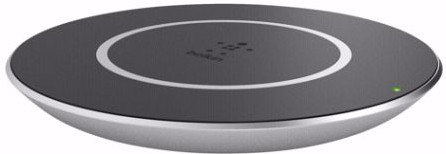 Belkin Qi Wireless Charger Silver Main Image