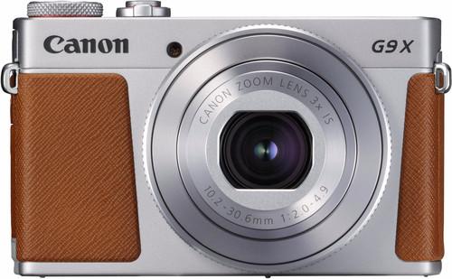Canon PowerShot G9 X Mark II Argent Main Image