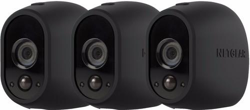 Arlo Wire-Free Camera Skin 3 Pack Zwart Main Image