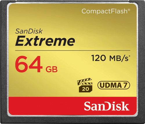 Sandisk CF Extreme 64 Go 120 Mo/s Main Image