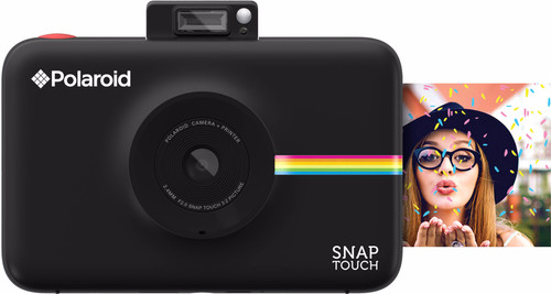 Polaroid Snap Touch Instant Digital Camera Black Main Image