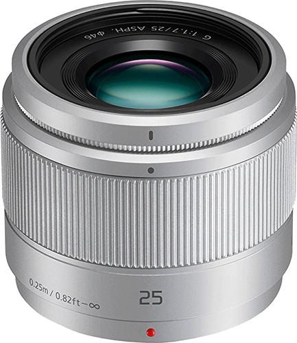 Panasonic Lumix G 25mm f/1.7 ASPH silver Main Image