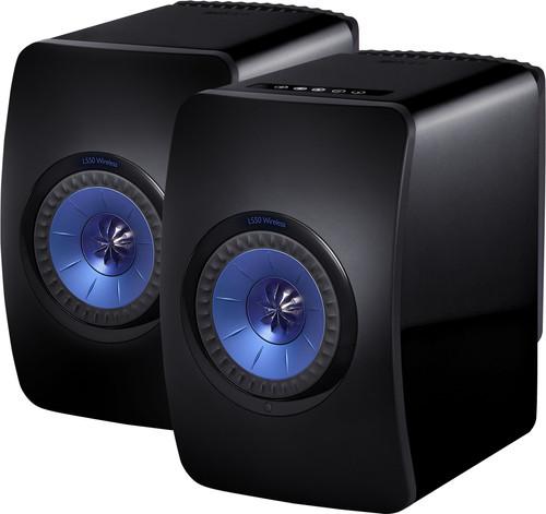 KEF LS50 Wireless Black (per pair) Main Image