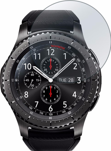 Just in Case Samsung Gear S3 Screenprotector Glas Main Image