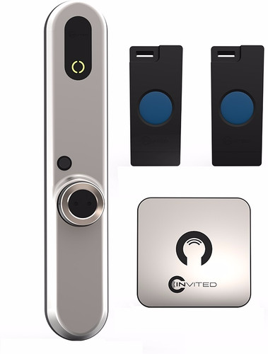 Invited Smart lock Basic 30/45 with wall switch Main Image