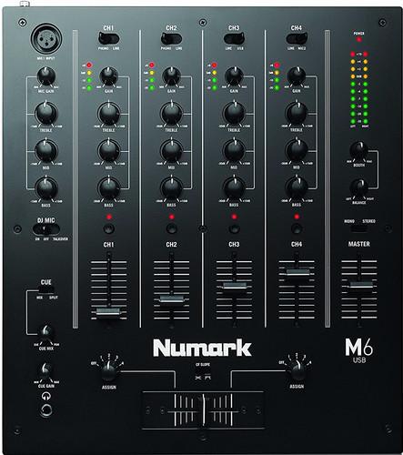 Numark M6 USB Zwart Main Image