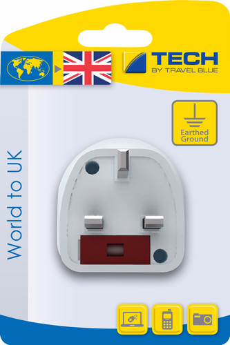 Travel Blue Wereld Adapter - UK Main Image