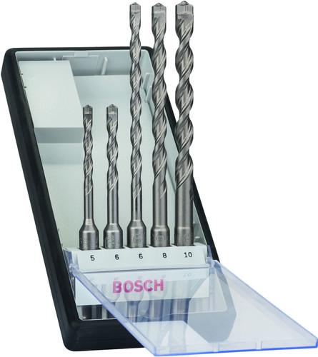 Bosch 5 pièces SDS-Plus Robust Line Set de forets Béton Main Image