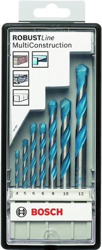 Bosch 7 pièces Robust Line Universelle Set de forets Main Image