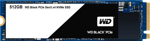 WD Black PCIe SSD 512 GB M.2 Main Image