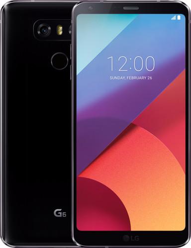 LG G6 Black Main Image