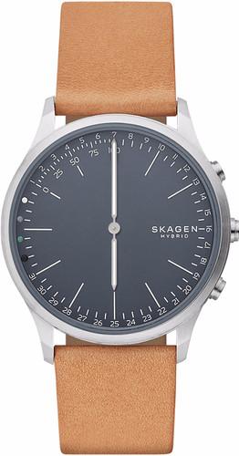 Skagen Jorn Connected Hybrid Silver/Brown Main Image