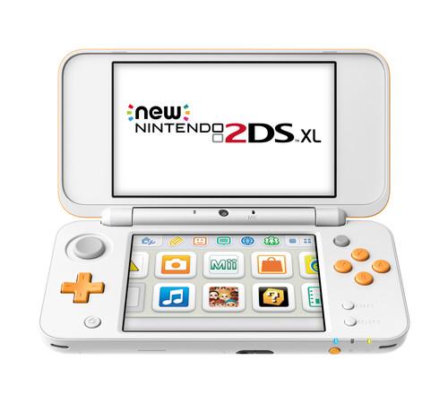Nintendo 2DS XL White/Orange Main Image