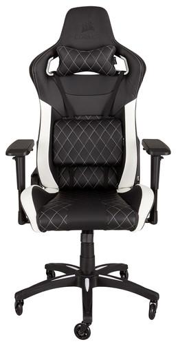 Corsair T1 Race Gaming Chair Black/White Main Image
